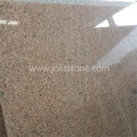 G003 G681 Shrimp Pink Granite Slab in 2cm Thickness
