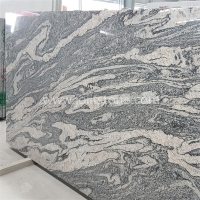 G004 Grey Pink Grain Colors Juparana Granite For Countertop Floor Tile
