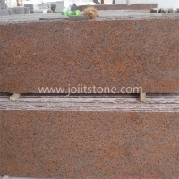 G005 G562 Maple Red Leaf Granite Small Slabs For Steps and Tiles