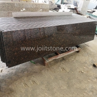 G007 Natural Tan Brown Granite Small Slabs With Good Price