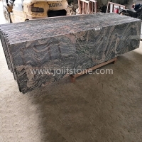 G009 G261 Grey Juparana Granite With Red Veins Small Slabs