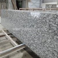 G010 G418 China Spray White Sea Wave Granite Strip Slab