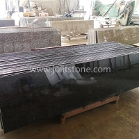 G016 China Absoutly Black Granite Small Slabs For Tops