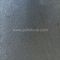 Hainan Black Basalt Stone Leather Finish