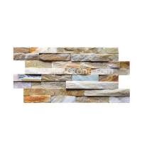 JSCS1036-03 Slim Super Thin Beige Culture Stone Panel Natural Slate Stone Wall Panel