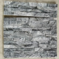 JSCS1560-45 Decoration Retaining Garden Wall Ancient Wooden Marble Stone Foundation