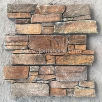 JSCS2060-08 Cheapest Cement Culture Stone Veneer Cladding For Fireplace