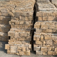 JSCS2060-19 Beige Rough Slate Stone Veneer Natural Stone Wall Cladding For Interior Exterior
