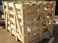 Natural Ledge Stone Standard Crate Packing