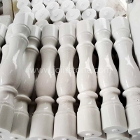 Pure White Marble Balusters For Staircase
