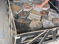 Rustic Slate Flagstone Paving Crate Packing