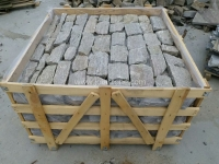 Tiger Skin Granite Loose Stone Crate Packing