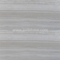 Wooden Grain White marble