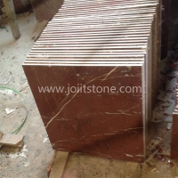 MT010 Rosa Coral Red Marble Tile