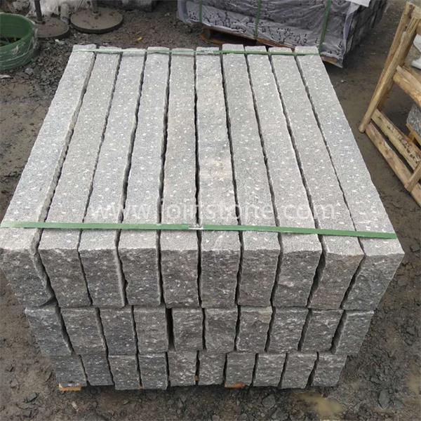 KS007 Wholesale Natural Grey Granite Kerbstone For Road