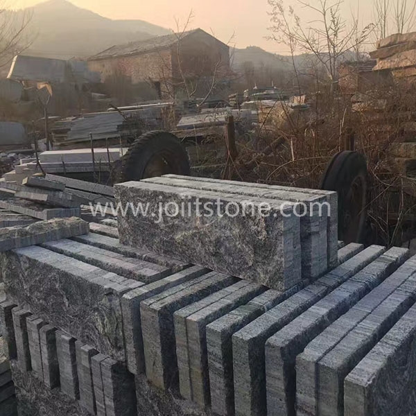 KS018 Landscaping Stone G302 Split Granite Kerbstone