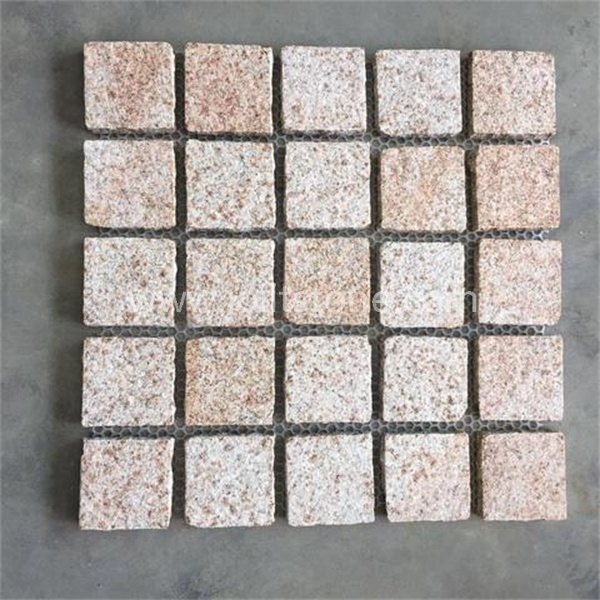MS059 Flamed Yellow Granite Landscape Paving Stone
