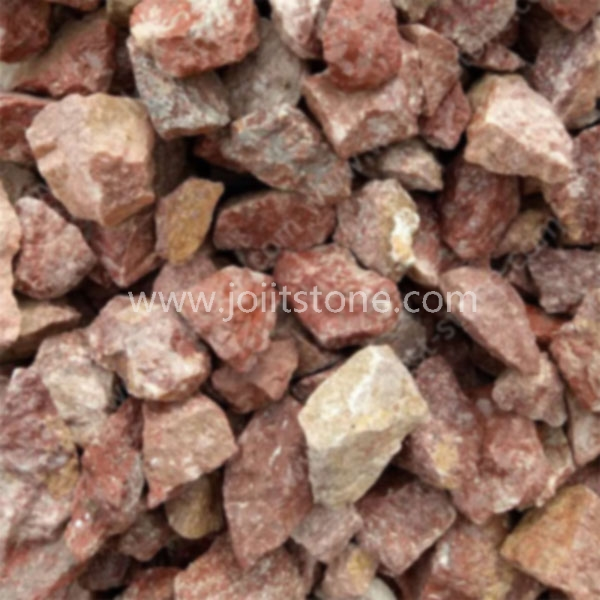 PS012 Red Granite Gravel and Crushed Stone For Decoration