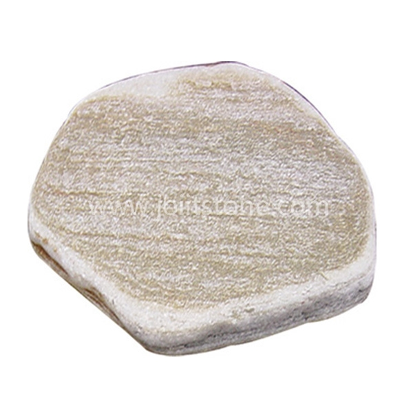 SS008 Exterior Garden Glass Round Shape Stepping Stone