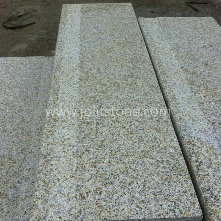 TR012 Honed G682 Yellow Granite Steps For Interior
