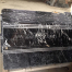 TR019 Black Marquina Marble Steps With Anti-Slip Lines