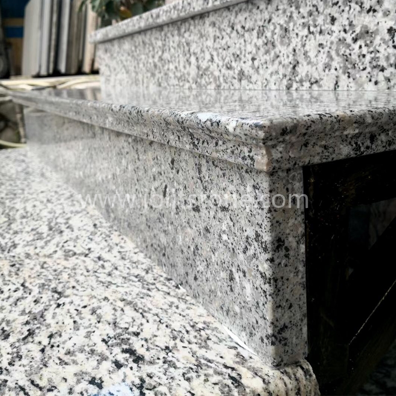 TR001 Different Options of Cheap Granite Stone Treads and Risers