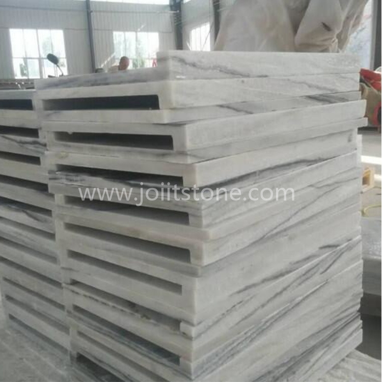 PCS008 Cloudy Grey Quartzite Coping Stone With Straight Edge
