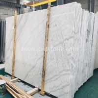 M001A Good Price Guangxi White Marble With Black Veins For Countertops