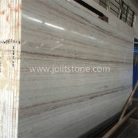 M003 Good Price Wood Marble Crystal White Slab For Decoration
