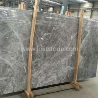 M007 Competitive Price Silver Mink Grey Marble Big Slab For Interior Decoration