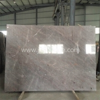 M011 High End Multi Grey Marble Big Slab With Red and White Strips