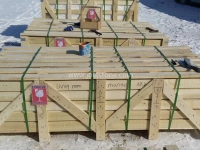 Stone Fireplace Crate Packing