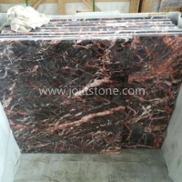 MT007 Black Marble With White and Red Veins Cockoo Marble Stone