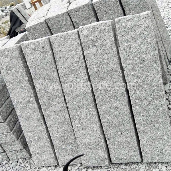 KS003 Chinese Gey Granite Road Border Granite Curb