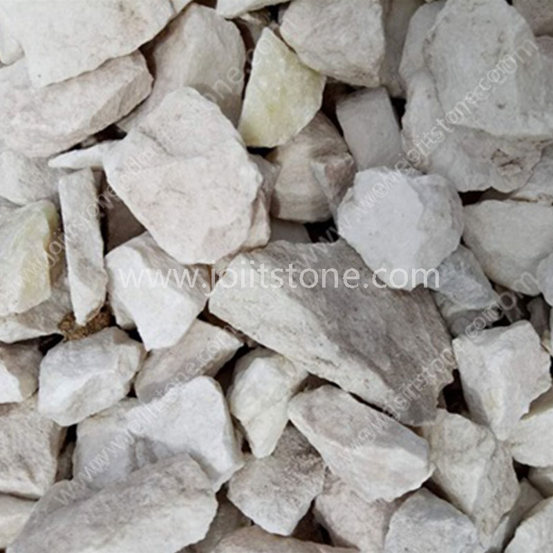 PS009 Outdoor White Crush Gravel Stone Chips For Garden