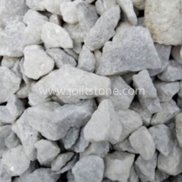 PS011 Light Grey Color Aggregates Stone For Pavers