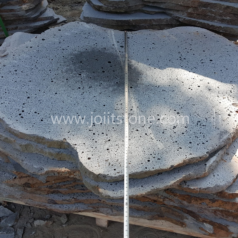 SS003 Exterior Outdoor Irregular Lava Stone Stepping Stone