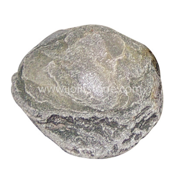 SS005 Cheap Price Green Quartzite Round Stepper Stone For Garden